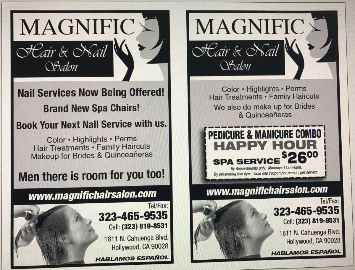 Magnific Hair Salon Specials